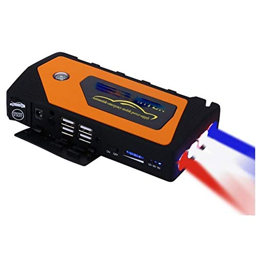 Review LALAWO Portable Car Starter 600A Car Battery Booster Mobile Power Bank with Smart Charging Po...