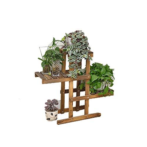 Stand De Plantes Pot Porte-Fleurs en Jardin Intérieur Et Extérieur Terrasse Balcon Pelouse 0730 (Color : Carbon Baking Color)