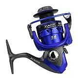 GCA1000-7000 Pesca Spinning Serie Carrete Izquierda Derecha Accesorio Pesca con Brazo Oscilante...