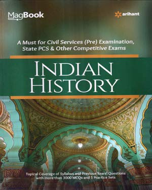 Complete Book of Indian History Book in English for All Competitive Exams ( arihant )