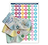 Haberdashery Online Stickers para emparejar Calcetines - Modelo 2 Niña