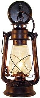 Muskoka Lifestyle Products Rustic Lantern Wall Mounted Light, Large, Rustic