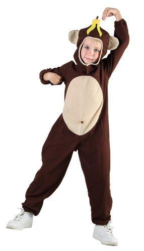 HENBRANDT Costume da Scimmia Bambino Taglia Media...