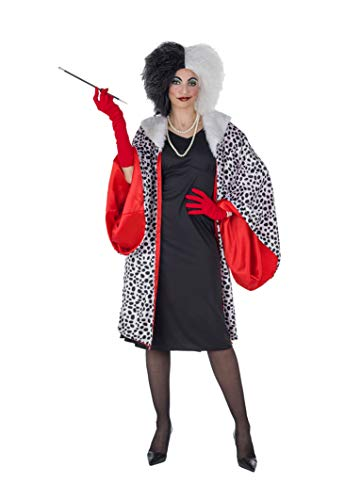 Banyant Toys Disfraz Cruella Mujer: M-L