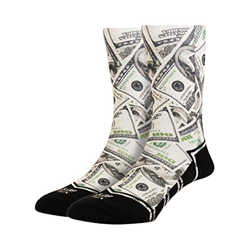 LUF SOX Classics Bucks - Socken für Damen und Herren, Unisex-Größe 36-40 und 41-46, mehrfarbig, Ferse und Fußspitze leicht gepolstert