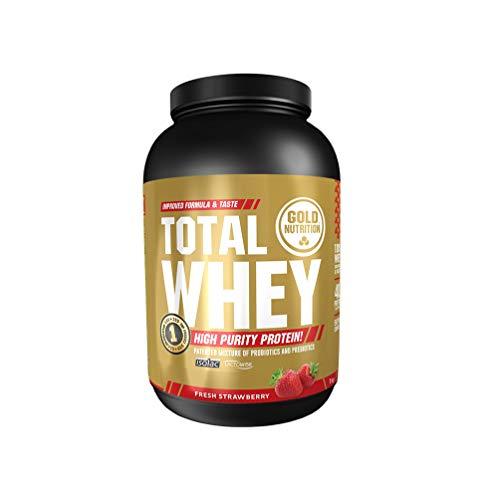 Gold Nutrition - Total Whey 1 Kg Fresa