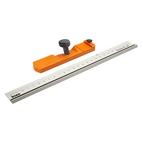 Bora 542007 Rip Guide for Bora Saw Plate 542006. The Circular Saw Guide Rail that Produces Straight Cuts up to 24""
