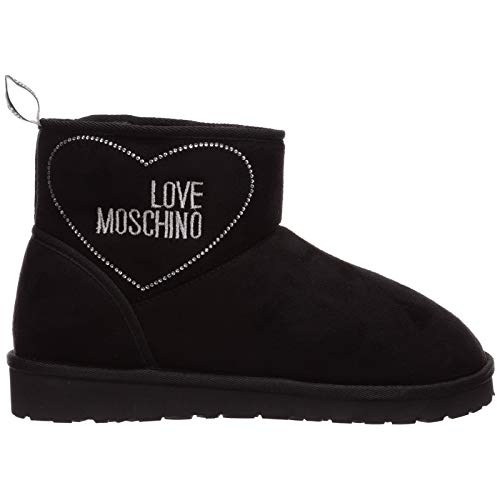 Love Moschino Damen Stiefeletten Nero 40 EU