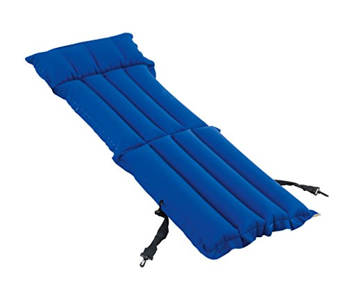 Bestway Camping Airbed & Chair Quick Inflation Sleep Mattress with Built-In Pillow, Blue