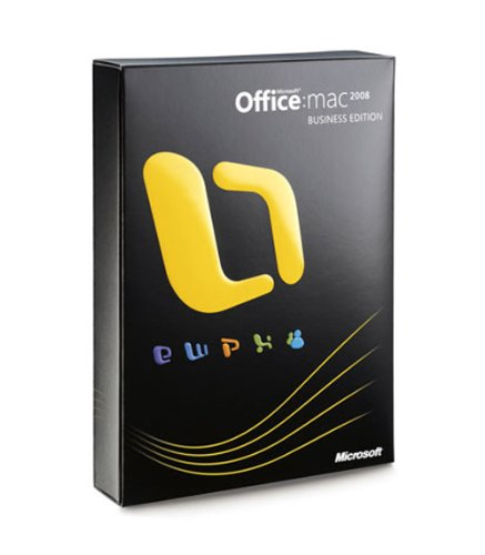 Microsoft Office Mac Business Edition 2008 Version Upgrade DVD (MAC) [import anglais]