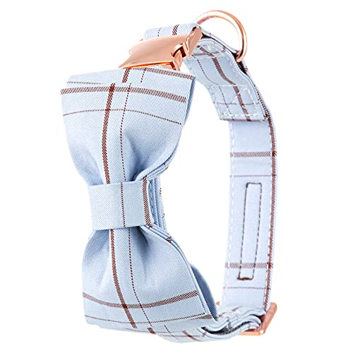 ZZCR Collares para Perros Collares con Hebilla Collares De Seguridad Y Antipérdida Collares para Perros Pequeños Y Medianos Collares Blandos C L