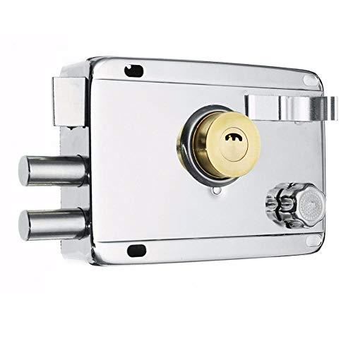 Lock Pad Exterieur IJzeren Deur Sloten Verzekering Lock Beveiliging Anti-Diefstal Lock Poort Mortise Lock voor Deur Meubels Hardware Rechts Geen Deadbolt