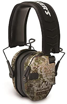 Walkers Game Ear GWP-RSEM-KPT Walker's Razor Slim Electronic Muff - Kryptek Camo
