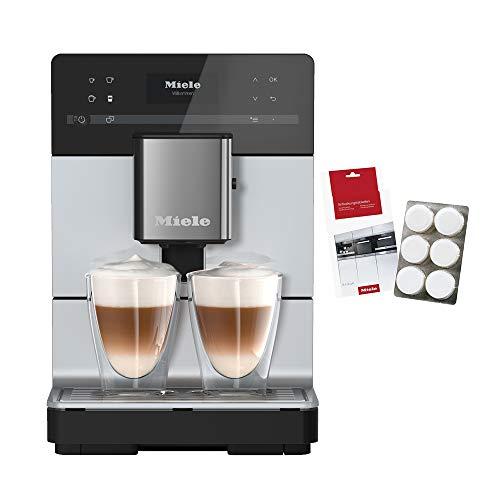 Miele CM 5510 ALSM, Macchina Caffè Automatica, Caffè e Cappuccino, 1.5 KW, Caffè in Grani o in Polvere, Silence, Grigio Perlato