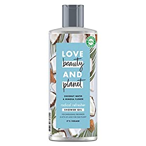 Love Beauty and Planet Radical Refresher Gel agua de coco & flor de mimosa 500ml