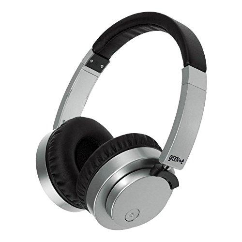 Groov-e Fusion kabel of draadloze Bluetooth hoofdtelefoon – zwart n/a zilver