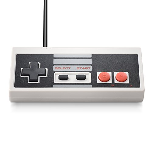 iNNEXT 2 x USB NES Controller Gamepad,Retro NES PC-Controller Spiel Joypad für Windows 10 PC Mac Raspberry Pi/RetroPie NES Emulator