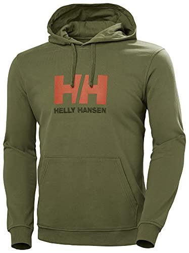 Helly Hansen HH Logo - Jersey para Hombre, Color Terreno Verde, Talla L