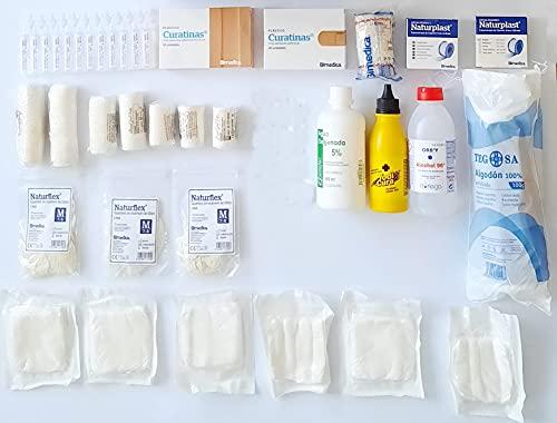 Kit reposicion Armario / maletin botiquin primeros auxilios