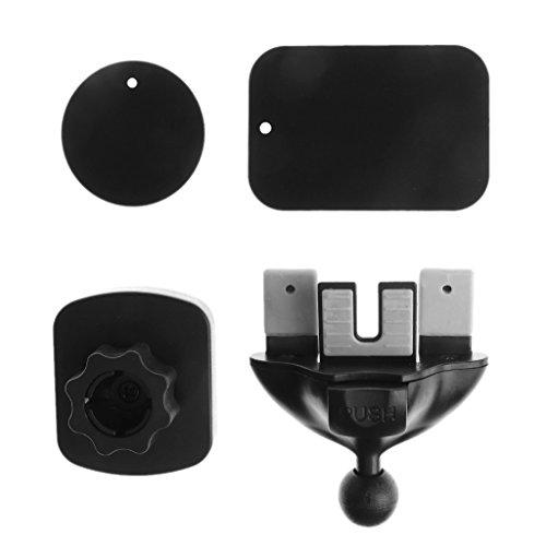 TSBB 360º Magnetic Car CD Slot Air Outlet Mount Holder Cradle para teléfono Celular GPS para teléfono Celular