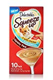 Delectables Squeeze Up Lickable Wet Cat Treats Variety Pack, 10Count