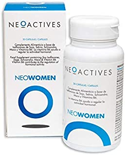 NeoWomen | Fórmula para mujeres | Contribuye a regular actividad hormona | Complemento concentrado. solo 1 capsula día (30)