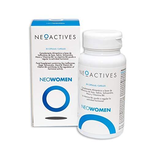 NeoWomen | Formula for Women | Supplement Containing Soy Isoflavones, Sage, Schisandra, Maca, and Vitamin B6 | Helps Regulate Hormonal Activity (30)