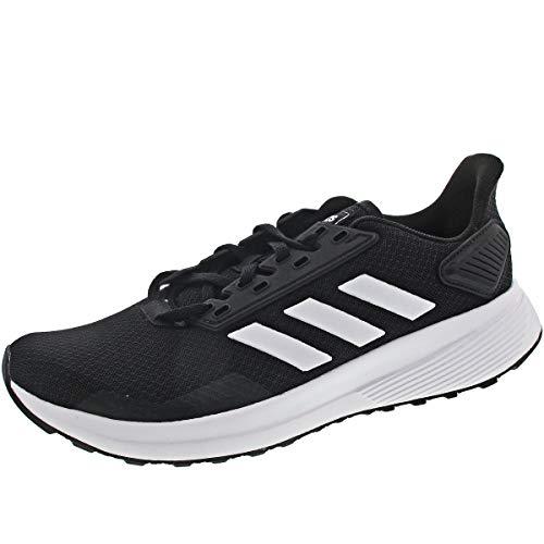 adidas Duramo 9, Scarpe da Fitness Uomo, Nero (Negbás/Ftwbla/Negbás 000), 42 2/3 EU