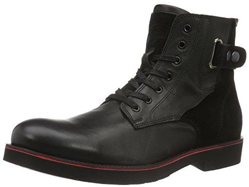 Buffalo Herren 5234 BUGAT Suede Lamb Chukka Boots, Schwarz (Black 19), 44 EU