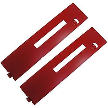 Ryobi 2 Pack Of Genuine OEM Replacement Throat Plates # 089006017016-2PK