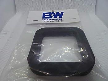 B&W Tow & Stow 2.5  Silencer Pad  TS35025  Black