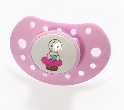 Cupcake Babies Tétine Simple 6 mois Rose