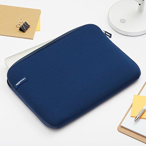 Amazon Basics Laptop-Schutzhülle,13,3 Zoll, Marine