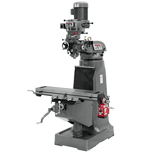 Best Price Jet 690006 JTM-2 115/230-Volt 1 Phase Vertical Milling Machine with X-Axis Powerfeed