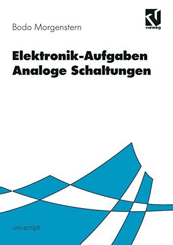 Elektronik-Aufgaben, Analoge Schaltungen (uni-script)