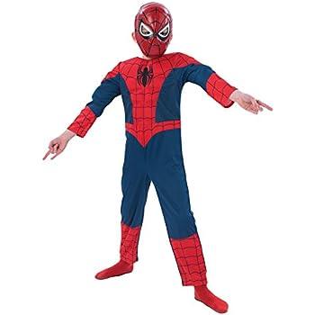Rubies - Disfraz de Marvel Spider-Man para niños, talla M (I ...