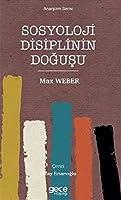 Sosyoloji Disiplinin Dogusu