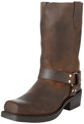 "Durango Men's DB594 11"" Harness Boot Distressed Brown 10.5 D - Medium"