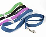 organic dog leash with fleece lined grip