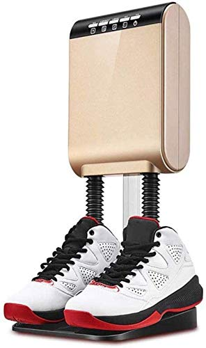 Secador de calzado Secador de zapatos, Mangueras flexibles Desinfección extraíbles Desodorización Secador de arranque de desodorización, Secadora de esterilización desodorante (Color: Oro) (Color: Ros