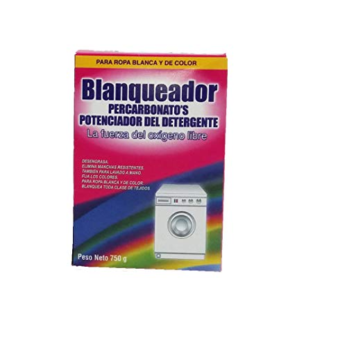 Productos Limp. adrian Potenciador del Detergente en Lavadoras. Blanqueante Percarbonatos. Estuche 750 gr.