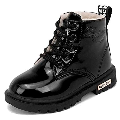 Dr. Martens Kid's Collection 1460 Pascal Mono Boot (Little Kid/Big Kid) Black Virginia 2 UK (US 3 Little Kid) M