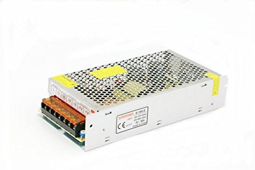 Lianshi - Fuente de alimentación conmutada - Universal - Protección contra cortocircuitos y sobrecargas AC100-260V / DC5V 2A-60A