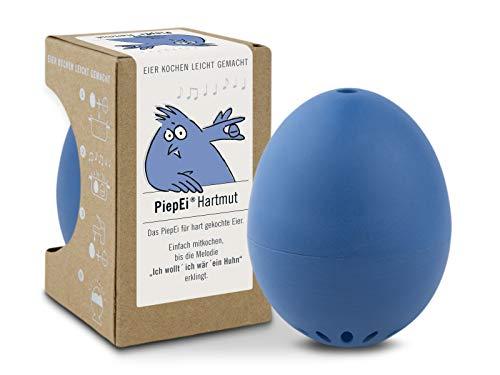Brainstream PiepEi Hartmut, Eieruhr zum mitkochen für das perfekte hartgekochte Ei, A000326