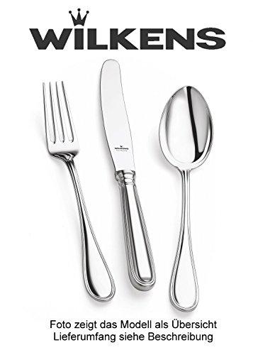 Wilkens Silber - Besteck Schwedisch Faden 30 tlg 180g