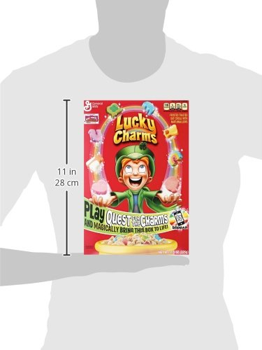 Lucky Charms Gluten Free Cereal 11.5 oz Box