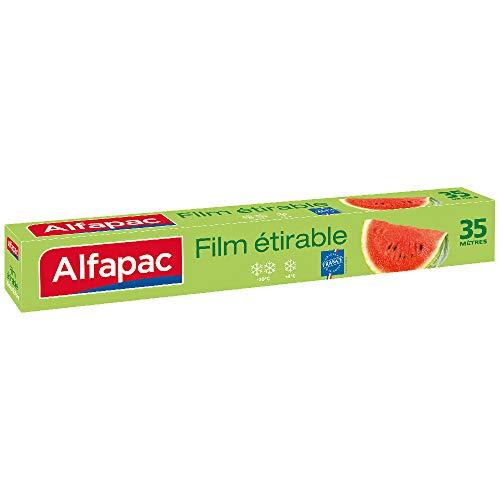 ALFAPAC - Film étirable 35M - Fabriqué en France