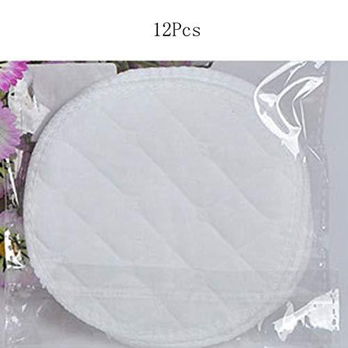 Ba30FRllylelly 12 pcs Femmes Anti-Fuites Réutilisable Coussin d'allaitement Soins Infirmiers Coussinets d'allaitement Lavable Doux Absorbant Alimentation Allaitement