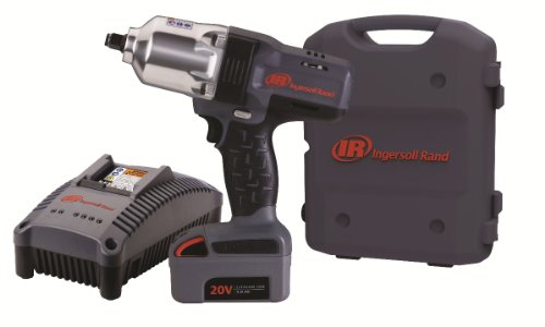 "Ingersoll Rand W7150-K1 ½"" Hi-Torque Impact One Battery Kit"