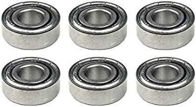 (6) BEARINGS for John Deere JD9239 JD9266 JD9296 JD7677R Mowers Decks Spindles